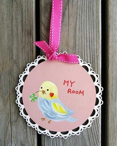小鳥さんルームプレート