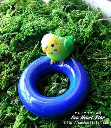 緑のインコさん